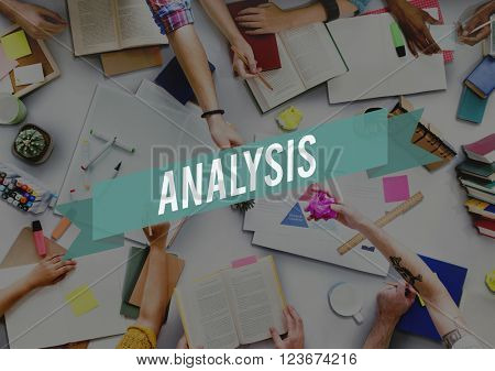 Analysis Analyze Consideration Evaluation Data Information Concept