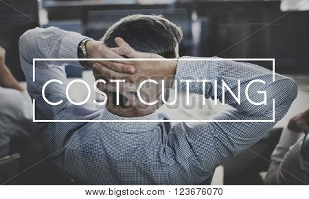 Cost Cutting Budget Bookkeeping Debt Expenditures Concept