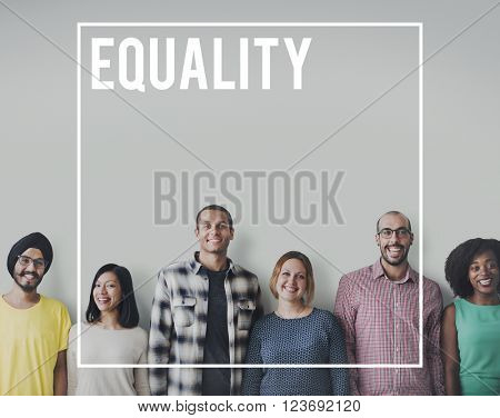 Equality Rights Equal Justice Reliability Concept