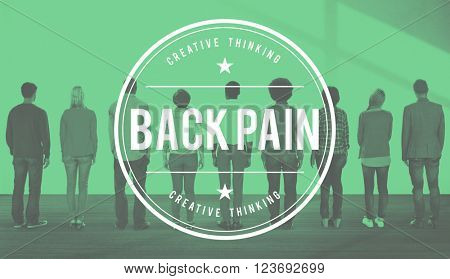 Back Pain Arthrosis Ache Osteopathy Spinal Cord Concept
