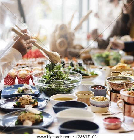 Nutrition Occasion Restaurant Nourishment Food Concept