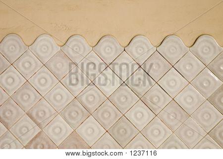 Modernist Tile Wall