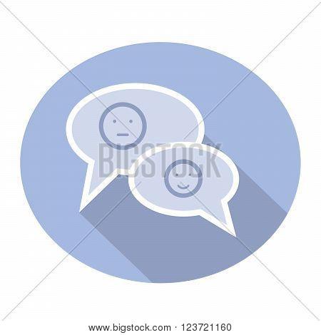 smileys in messages convey the mood of interlocutors