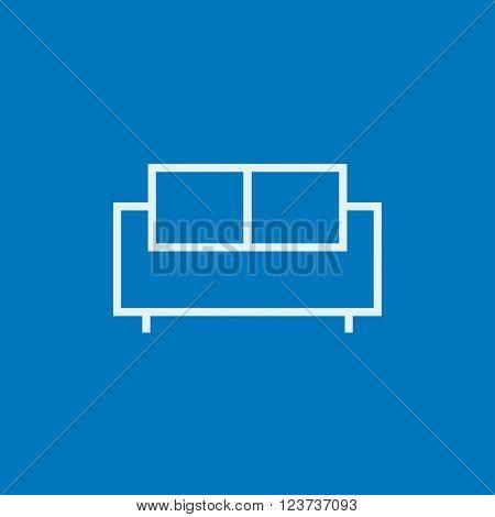 Sofa line icon.