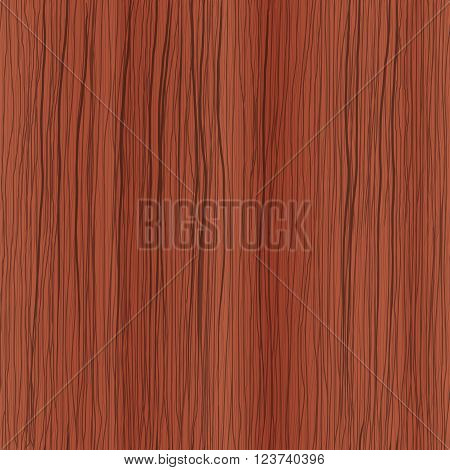 Hand drawn wood seamless texture, mahogany. Background for your design.