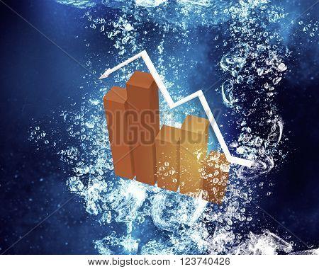 Graph under water