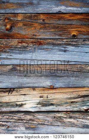 Old and rustic weathered wood texture