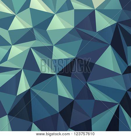 Triangular Abstract Geometric Pattern