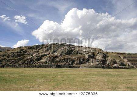 The Saqsaywaman Archaeological Complex, Peru