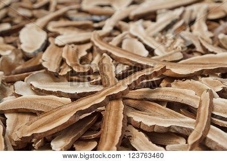 Reishi mushroomDry , mushroom for herbal medicine ** Note: Shallow depth of field
