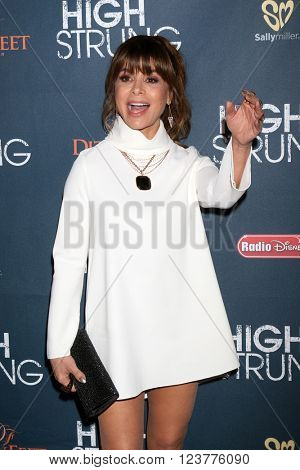 LOS ANGELES - MAR 29:  Paula Abdul at the High Strung Premeire at the TCL Chinese 6 Theaters on March 29, 2016 in Los Angeles, CA