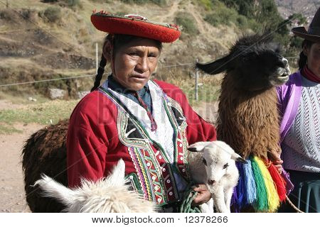 Indigenous Woman, Cuzco, Peru