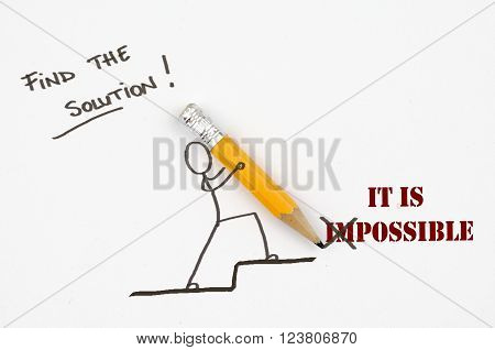 Find the solution! It is possible - Concept