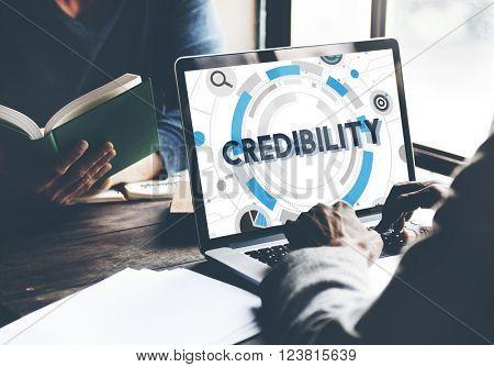 Credibility Trustworthy Integrity Likelihood Dependability Concept
