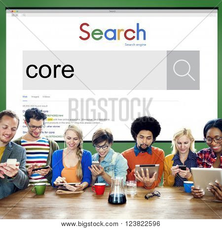 Core Values Ideology Word Moral Concept