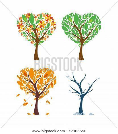 Love Tree Through The Year.eps