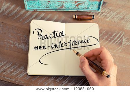 Practice Non Interference