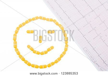 Smiley Face And Ekg