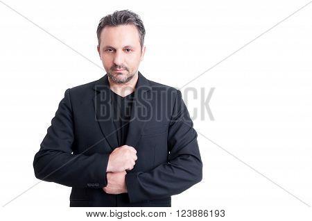 Fashionable Business Man