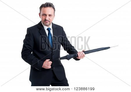 Powerful And Dangerous Business Man