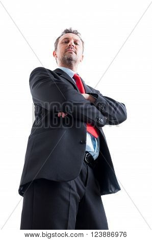 Hero Shot Of Business Manager