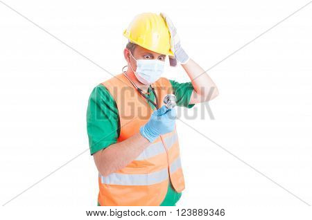 Find the perfect job as doctor medic or contructor maybe engineer architect or builder