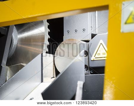 circular cutting tool steel bar by automatic feed