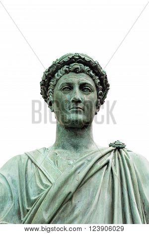 Statue Of Armand Emmanuel Sophie Septimanie De Vignerot Du Plessis, Duke Richelieu In A Roman Toga A