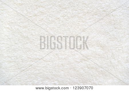 Beige delicate soft  background of plush fabric