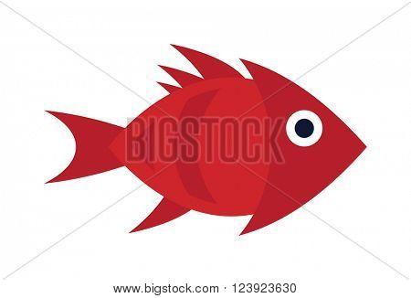 Aquarium underwater fish and marine aquarium blue fish. Wildlife tropical sea aquarium fish, colorful ocean aquarium blue exotic fish. Blue discus fish aquarium underwater nature animal vector.