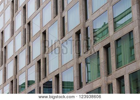 modern building exterior - real estate facade