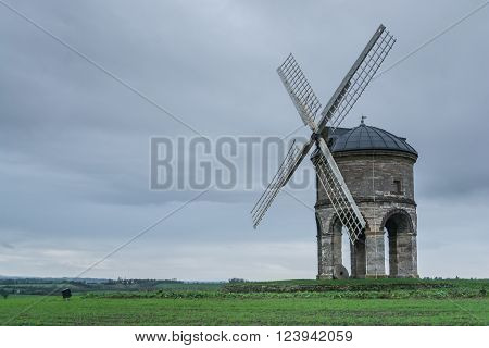 Chesterton Windmill is a 17th-century cylindric stone tower windmill with an arched base, located outside the village of Chesterton, Warwickshire, England