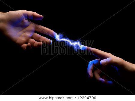 Spark Between Hands