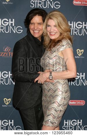 LOS ANGELES - MAR 29:  Michael Damian, Janeen Best Damian at the High Strung premiere at the TCL Chinese 6 Theaters on March 29, 2016 in Los Angeles, CA