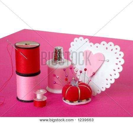 Making Valentine Hearts