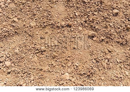 dry soil background texture with rough surface