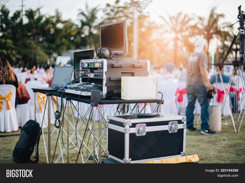 Dj Mixing Equalizer Image & Photo (Free Trial)   Bigstock
