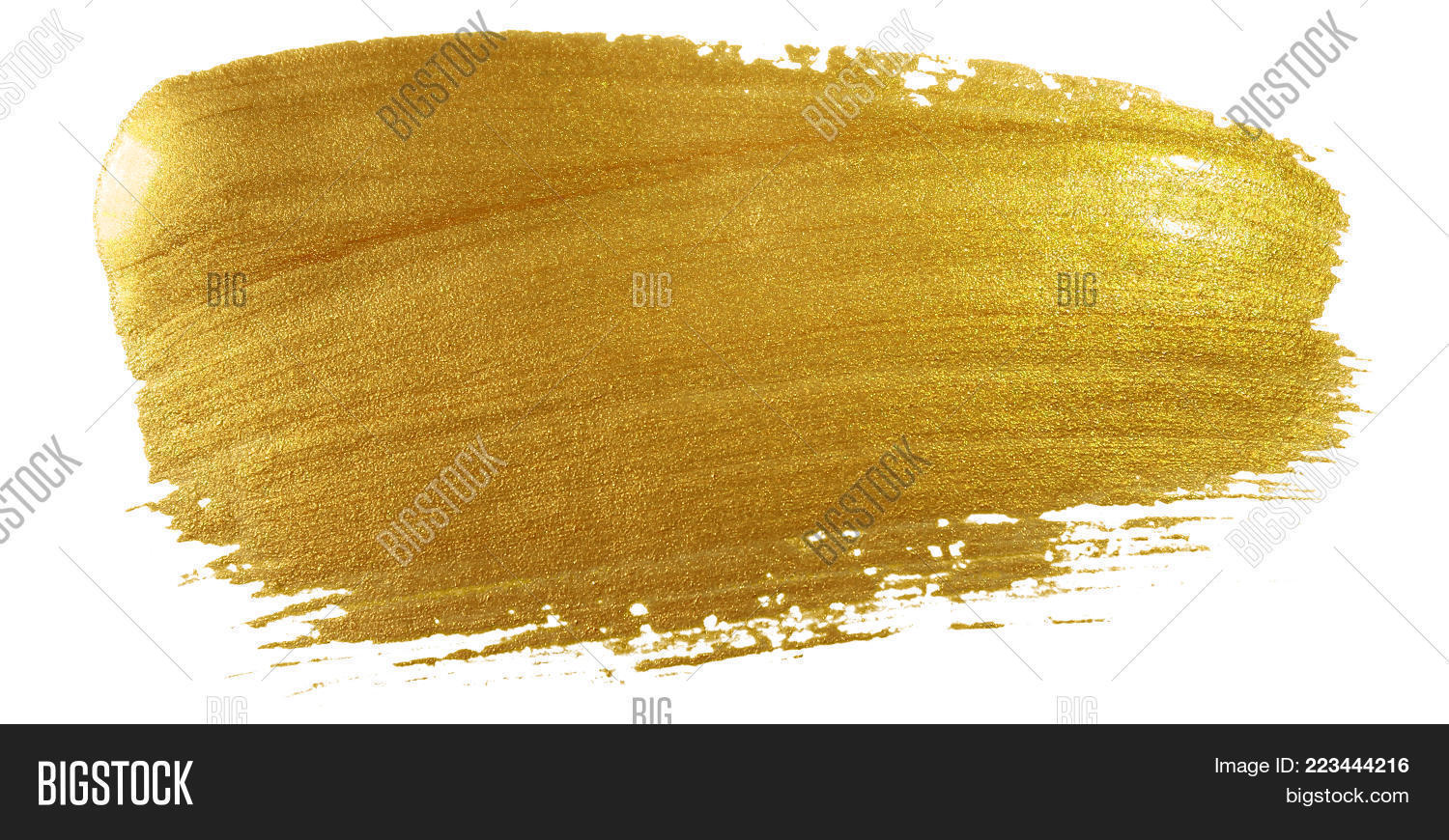 gold color paint brush image photo free trial bigstock