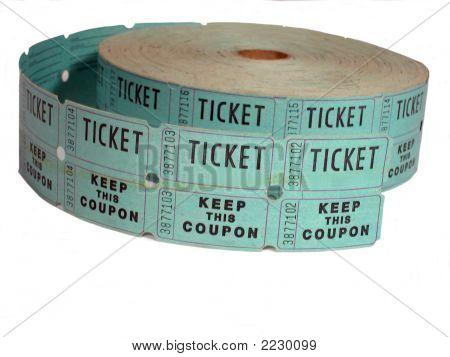 Raffle Ticket Roll