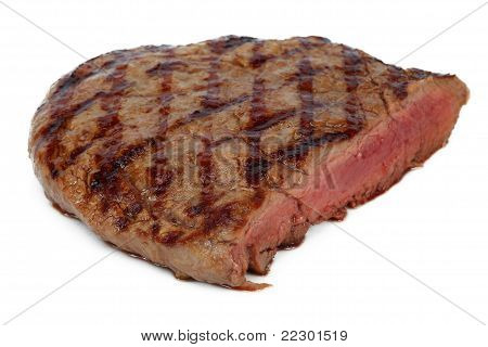 Steak Grilled With Blood