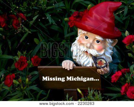 Gnome Missing Michigan