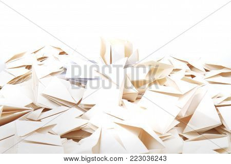 Origami Papers Background