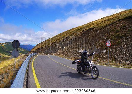 Transalpina Road in Parang Mountains, Romania, Europe
