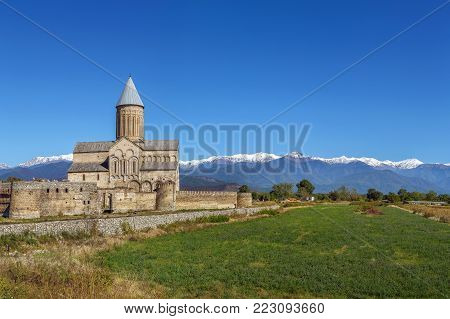 Alaverdi Monastery is a Georgian Eastern Orthodox monastery located in the Kakheti region of Eastern Georgia