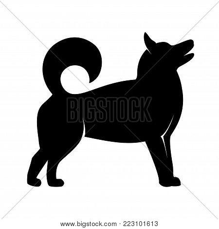 Dog Symbol 2018 Vector & Photo (Free Trial) | Bigstock