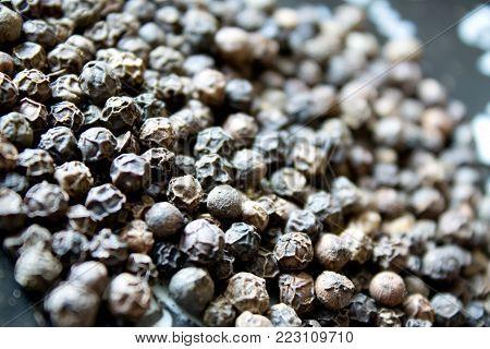 Black Pepper Background