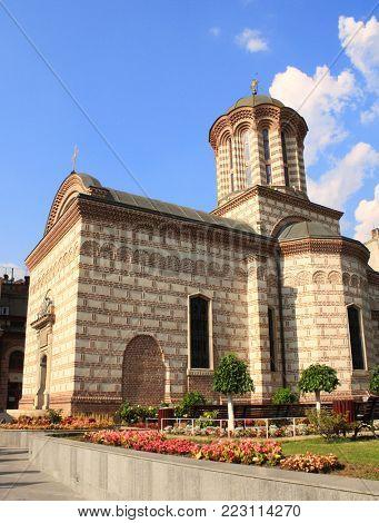St. Anton Church, the oldest romanian church (built in 1559), Curtea Veche, Bucharest, Romania, Europe
