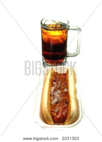 Chilli Dog And Soda