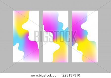 Vibrant color backgrounds for mobile phone and smart phone screen