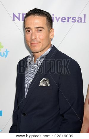 LOS ANGELES - AUG 1:  Kirk Acevedo arriving at the NBC TCA Summer 2011 All Star Party at SLS Hotel on August 1, 2011 in Los Angeles, CA